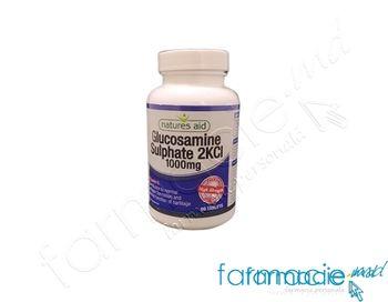 купить Glucozamina sulfat 2KCl 1000 mg comp. N90 (fara sare) Natures Aid в Кишинёве