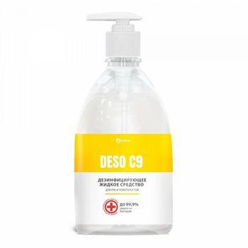 DESO C9 Дезинфицирующее средство на основе изопропилового спирта 500 мл