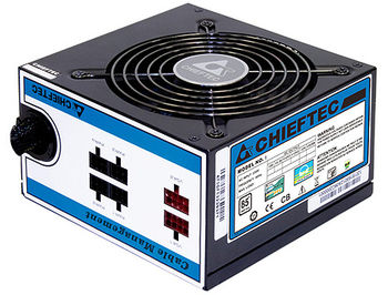 Блок питания 750W ATX Power supply Chieftec CTG-750C, 750W, 120mm silent fan, 85 Plus, ATX 12V 2.3, EPS 12V, Cable Management, Active PFC (Power Factor Correction)