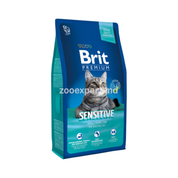 купить Brit Premium Cat Sensitive 1 kg в Кишинёве