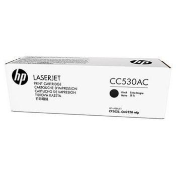 HP Black LaserJet CP2025/CM2320 Print Cartridge, with ColorSphere Toner (3500pages)
