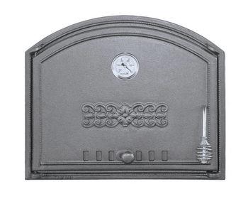 купить Дверца чугунная глухая с термометром левая DCHS1T в Кишинёве