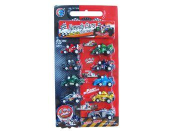 """Набор машинок """"Racing cars"""" 9шт, блистер"""