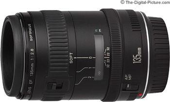 купить Prime Lens Canon EF 135mm, f/2.8 Soft Lens в Кишинёве