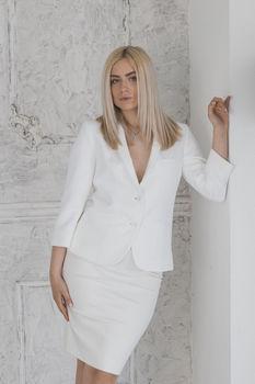 купить Жакет белый в Кишинёве