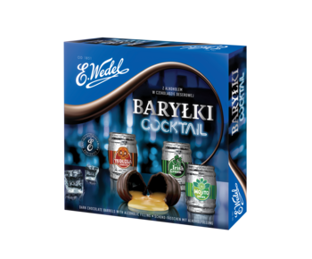 Ciocolată Wedel Barrels Cocktail, 200g