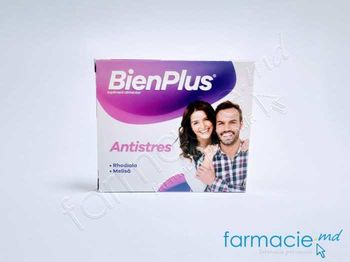 купить BienPlus Antistres caps. N10 (rhodiola rasea 250 mg, melisa 50 mg) в Кишинёве