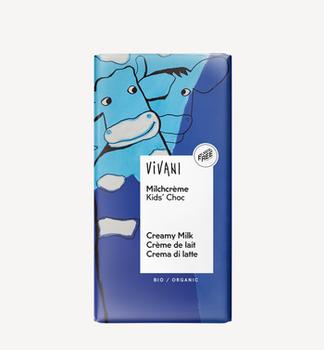 Молочный шоколад Kids bio Vivani 100г