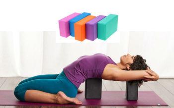 Блок для йоги опорный (673)