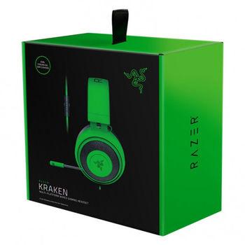Наушники Gaming Razer Kraken , Green