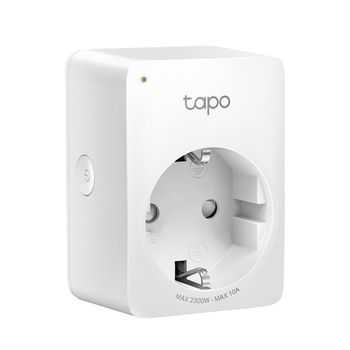 TP-LINK Tapo P100, Smart Mini Plug, Wifi, Remote Access, Scheduling, Away Mode, Voice Control (The Google Assistant, Amazon Alexa)