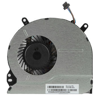 CPU Cooling Fan For HP Sleekbook 15-b 14-b (4 pins)