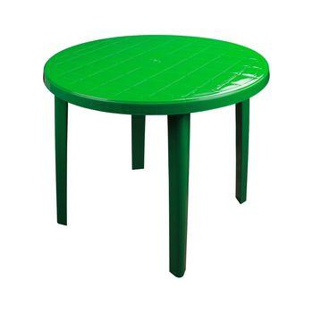 купить Стол круглый пластиковый (900х900х750) (зеленный) М2666 в Кишинёве