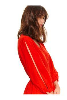 Блуза TOP SECRET Красный