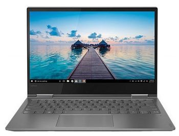 "Lenovo IdeaPad Yoga 730-13IWL Iron Grey 13.3"" FHD IPS MultiTouch (Intel® Core™ i5-8265U 4xCore 1.6-3.9GHz, 8Gb (1x8) DDR4 RAM, 256GB M.2 PCIe SSD, Intel® UHD Graphics 620, w/o DVD, w/o Pen, WiFi-N/BT4.1, 0.3M WebCam, 4cell, FP, Win10HE, RUS, 1.12 kg)"