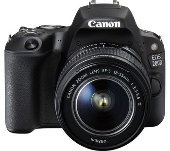 купить Canon EOS 200D + EF-S18-55 IS STM в Кишинёве