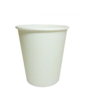 Бумажный стакан белый 180 мл