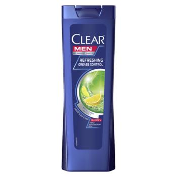 Шампунь против перхоти Clear Refreshing Grease Control, 400 мл