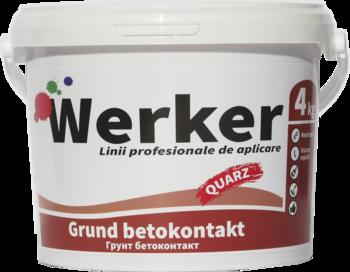 Грунтовка для стен Werker Betokontakt 4 кг