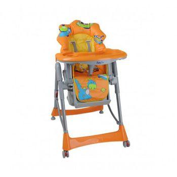 """Babyono Кресло для кормления оранжевое """"Динозаврик"""""""