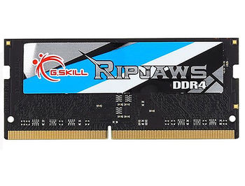 4GB SODIMM DDR4 G.SKILL Ripjaws F4-2400C16S-4GRS PC4-19200 2400MHz CL16, 1.2V