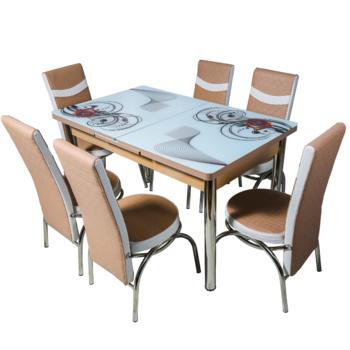 Комплект Келебек ɪɪ 644 + 6 стульев