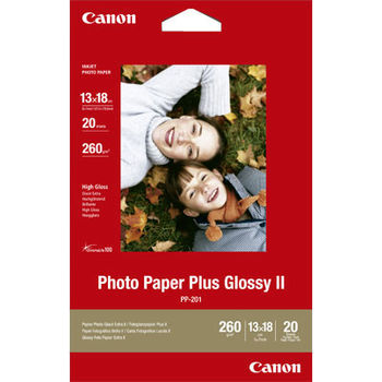 "Canon Photo paper Plus Glossy, 270g/m2, (20 sheets), 4""x6"""