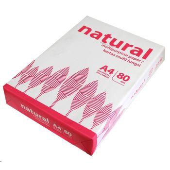 Бумага ксероксная А4 80g/m2 500л Natural
