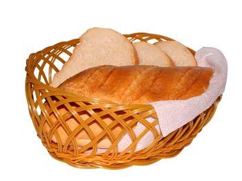 купить Хлебница плетеная овальная большая в Кишинёве