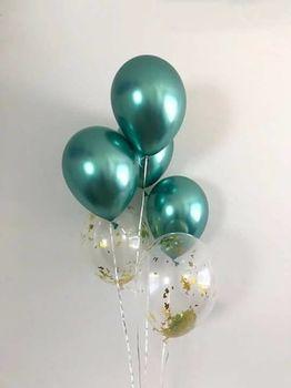 купить Набор шаров «Green  Chrome» в Кишинёве