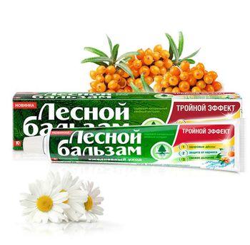 cumpără Pastă de dinți Lesnoi Balsam Mușețel, cătină 75ml în Chișinău