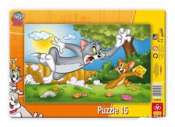 "Trefl Пазлы  Кадр ""Похищение сыра , Том и Джери"" (15 шт)"