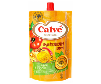cumpără Calve Ketchup Indian Curry, 350 gr în Chișinău