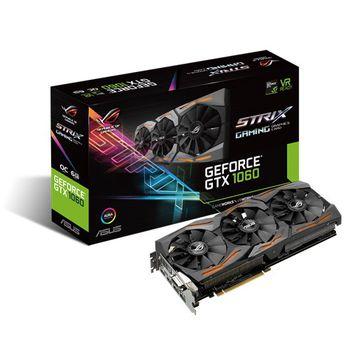 "cumpără ""VGA card PCI-E ASUS STRIX-GTX1060-6G-GAMING NVIDIA GeForce GTX 1060, 6GB GDDR5, 192-bit, OC Mode - GPU Boost Clock : 1746 MHz , GPU Base Clock : 1531 MHz; Gaming Mode (Default) - GPU Boost Clock : 1708 MHz , GPU Base Clock : 1506 MHz; Memory 8008MHz, DVI-D ,2xHDMI 2.0, 2xDP, Power Connectors 1 x 8-pin"" în Chișinău"