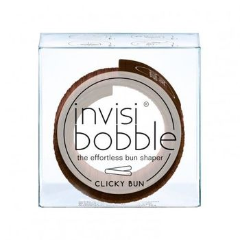 INVISIBOBBLE CLICKY #bun pretzel brown