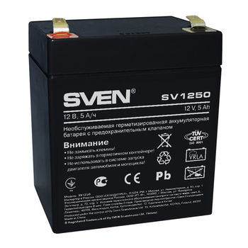 Battery SVEN SV1250, 12V 5AH