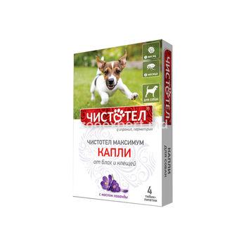 купить Чистотел капли от блох и клещей для собак в Кишинёве