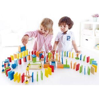 купить Hape Деревянная игрушка Динамический домино в Кишинёве