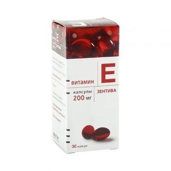 cumpără Vitamina E 200mg caps. N30 (Zentiva) în Chișinău