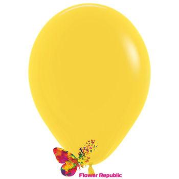 купить Латексный воздушный шар Желтый -30 см в Кишинёве