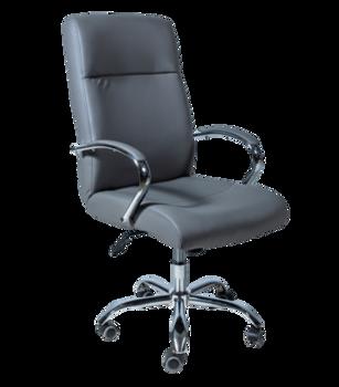 Офисное кресло 9001 серое