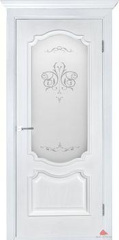 купить Дверь ПРЕСТИЖ белый ясень остекленная в Кишинёве