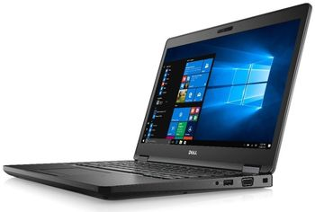 DELL Latitude 5580 Black, 15.6'' FullHD (Intel® Core™ i5-7440HQ up to 3.8GHz, 8Gb DDR4 RAM, 256 GB SSD, Intel® HD630 Graphics, no ODD, CardReader, WiFi-N, BT4.0, HDMl, 4cell, 1.0 MP HD Webcam, BackIit KB, W10Pro, 1.9 kg)