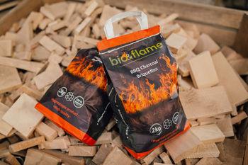 Брикетированный древесный уголь 2 кг