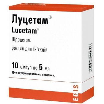 купить Lucetam fiole 5ml N10 в Кишинёве