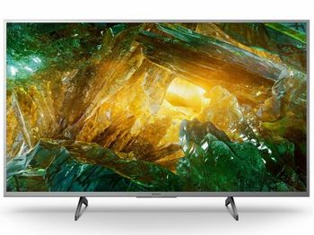 """43"""" TV SONY KD43XH8077SAEP, Silver (SMART TV)"""
