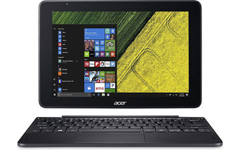 "10.1"" ACER One 10 (NT.LCQEU.009) 2-in-1 Tablet PC, 10.1"" IPS HD (1280х800), Intel® Atom™ x5-Z8350 up to 1.92Ghz, 2GB RAM, 32GB storage, microSDHC slot, Intel® HD Graphics, Camera 2MP+0.3MP WiFi-N/BT4.0,Windows 10 Home, 5910 mAh, 0.65kg/1.27kg"
