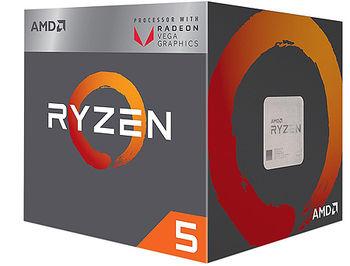 Procesor CPU AMD Ryzen 5 2600X 6-Core, 12 Threads, 3.6-4.2GHz, Unlocked, 19MB Cache, AM4, Wraith Spire Cooler, BOX
