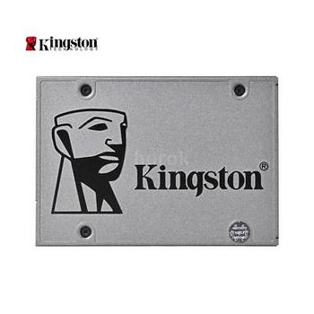 """2.5"""" SSD 240GB Kingston UV500, SATAIII, Sequential Reads 520 MB/s, Sequential Writes 500 MB/s.Max Random 4k:Read 79,000 IOPS / Write 25,000 IOPS (IOMETER),7mm,Controller Marvell 88SS1074, 3D TLC"""