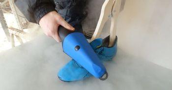Парогенератор ScarpaVapor для чистки обуви 2000 W, 5 bar
